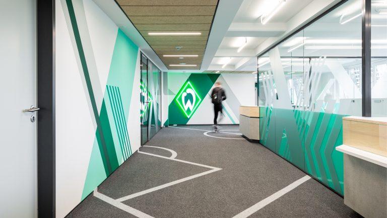 Werder Bremen Leistungszentrum Flur